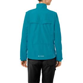 VAUDE Dundee Classic Zip-Off Jacket Women alpine lake